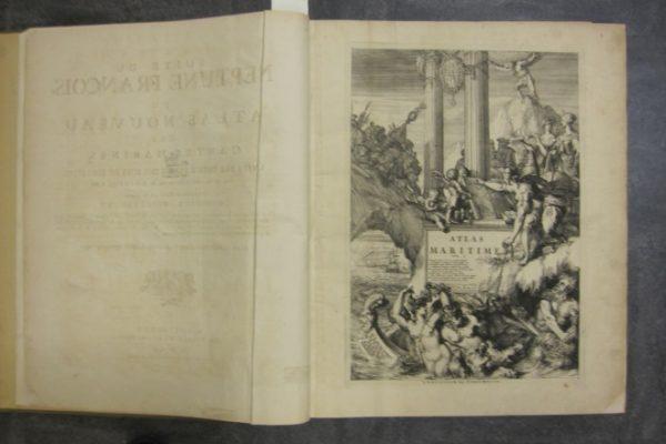 Suite du Neptune Francais, ou Atlas Nouveau des Cartes Marines (vols. 2 and 3)