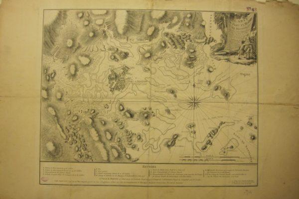 Carte du Port et Havre de Boston avec les Cotes Adjacentes…