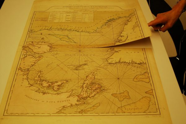 A Chart of the Gulf of St. Laurence, Composed From A Great Number of Actual Surveys and Other Materials…