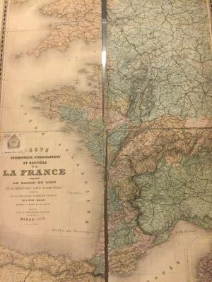 Carte Orographique Hydrographique et Routière de la France …