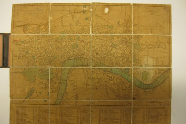 A New and Accurate Plan of London, Westminster and the Borough of Southwark…