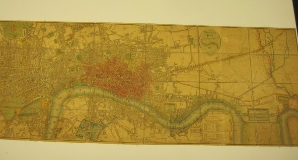 Wallis's Plan of the Cities of London & Westminster