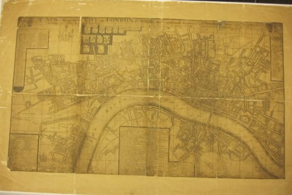 A New Mapp of the City of London &c….