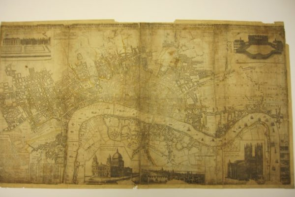 A New and Exact Plan of the Cities of London and Westminster & the Borough of Southwark to This Present Year…