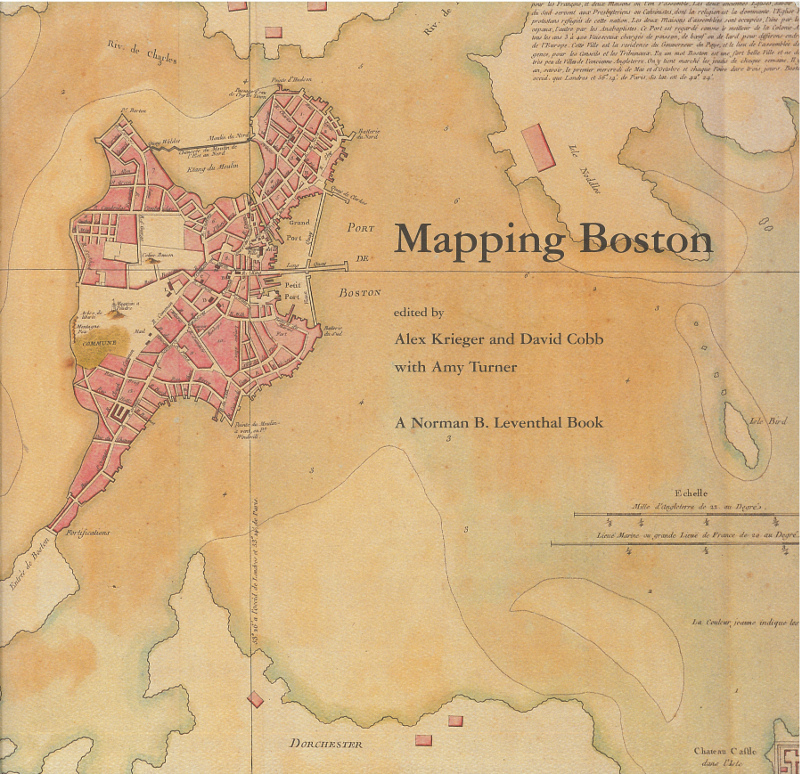 Catalog cover for Mapping Boston