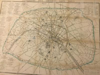Itinéraire des Omnibus dans Paris
