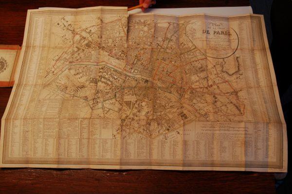 Plan de la Ville de Paris, Divisé en 12 Arrondissemts. et 48 Quartiers…