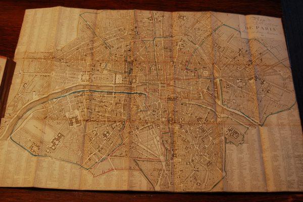 Plan Routier de la Ville et Fauxbourgs de Paris Divisé en Douze Mairiea