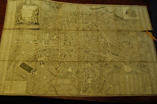 Plan de la Ville et Faubourg de Paris avec tous ses Accroissemens…