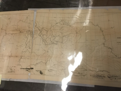 Map of the Nez Perce Indian campaign Brig. Gen. O. O. Howard commanding