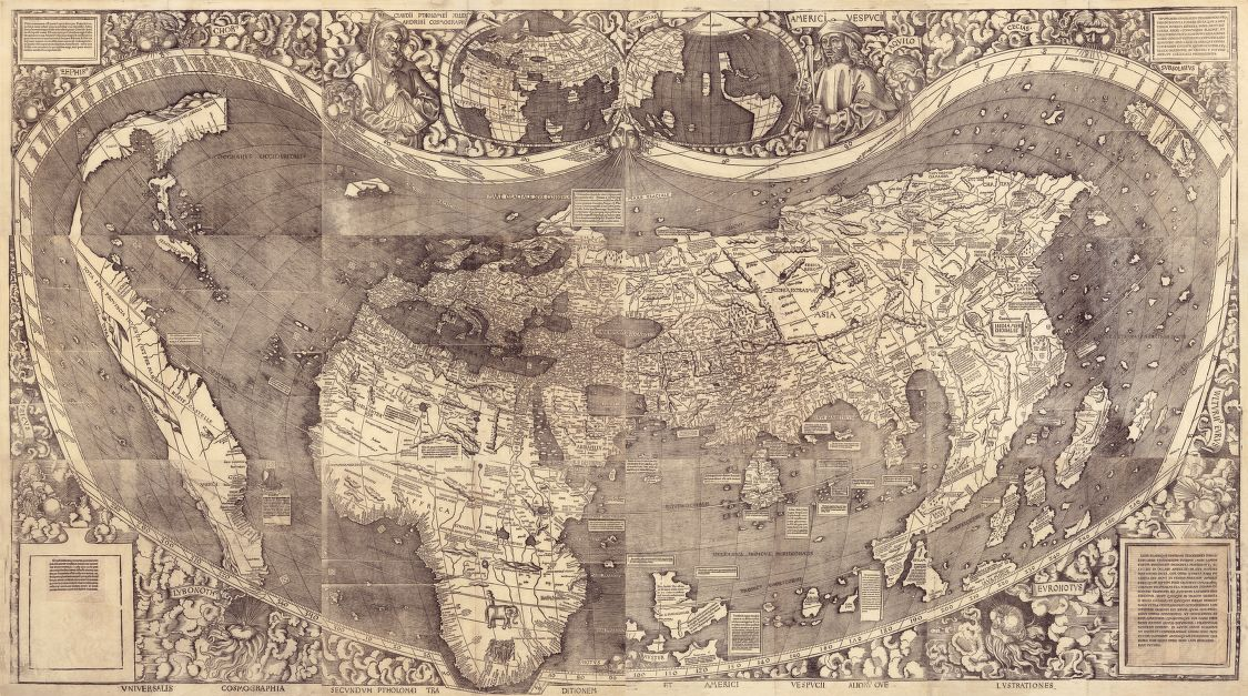 1507 waldseemuller