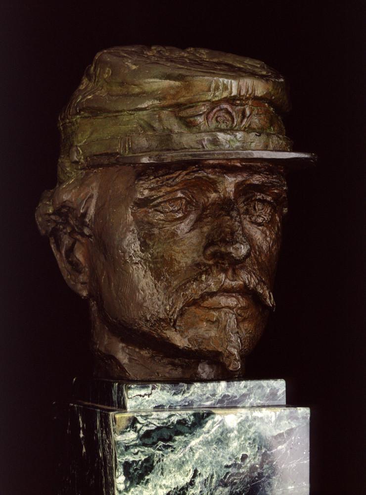 78a bronze head