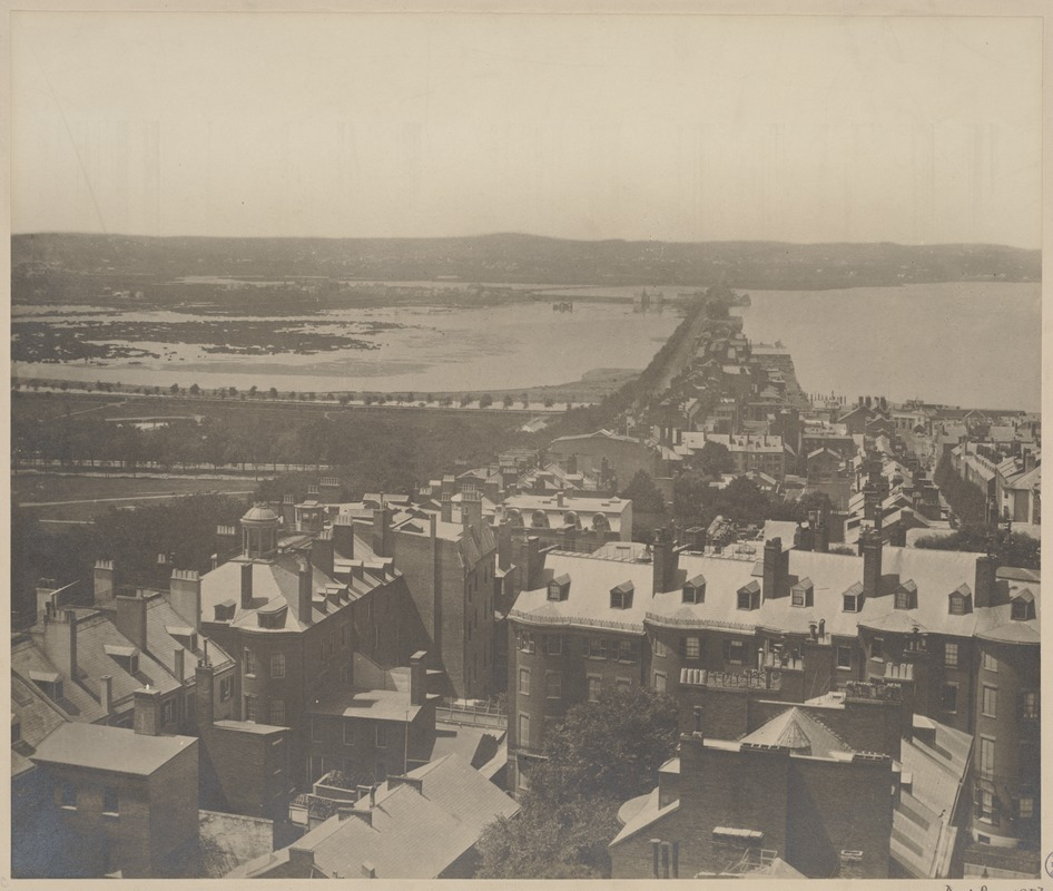 Back bay view 1857