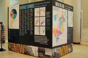 Who We Are: Boston Immigration Then and Now @ Northwest Corridor in front of the Norman B. Leventhal Map Center