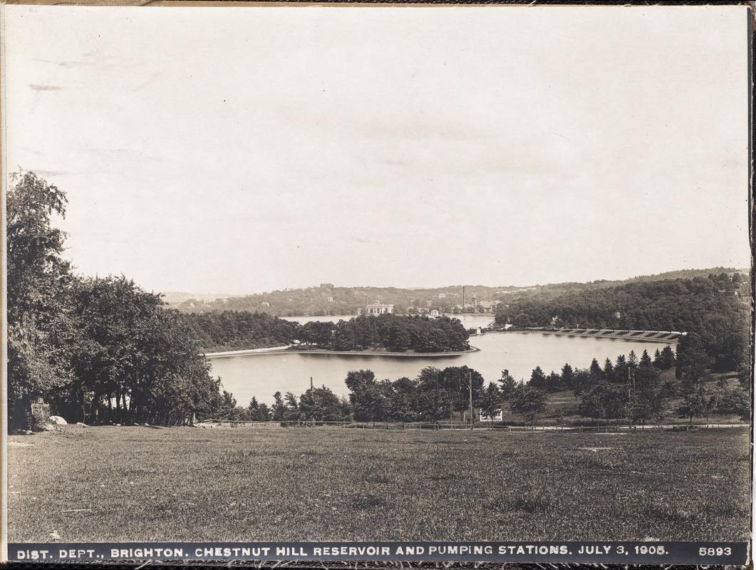 Br37 chestnut hill reservoir 1905
