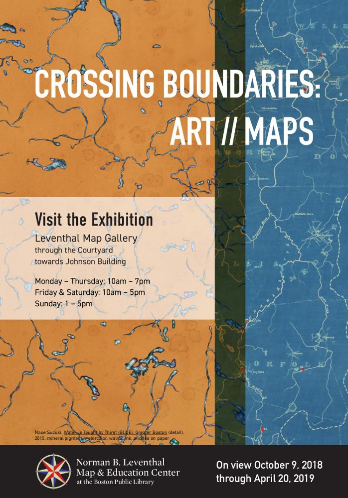 Art maps poster